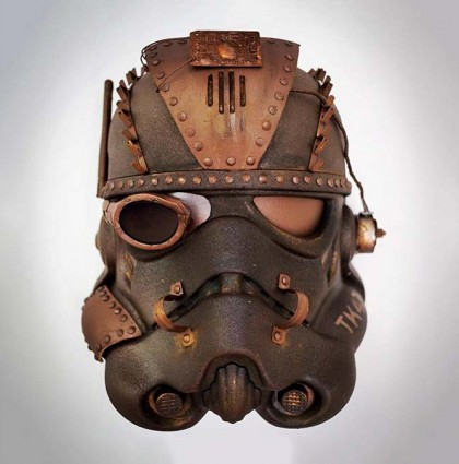 Steam punk Star Wars helmet